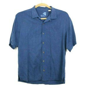 Tommy Bahama Mens Shirt Casual Button Down Silk